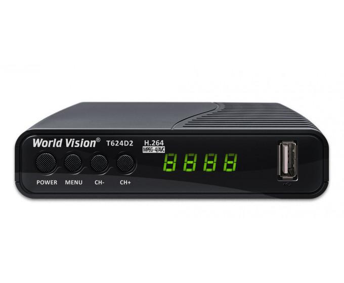 Ресивер World Vision T624 D2