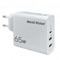 Зарядное World Vision 65W PD Charger